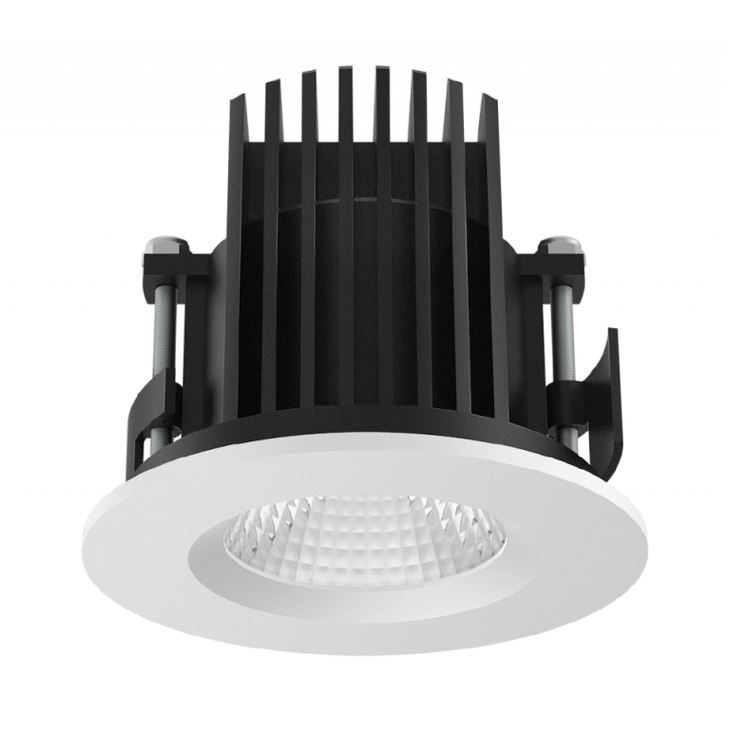Downlight LED extèrieur LITED Luna - 14W 4000K 1260Lm IP65 IK10 40 000H L80B10
