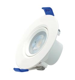 Spotlight LED THREELINE Iris R - 3W 4000K 294Lm IP20 90° 30 000H L70B10 - Garantie 2 ans