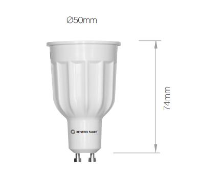 Lampe LED BENEITO GU10 Power - 10W 3000K 1000Lm 60°25 000H - Garantie 3ans