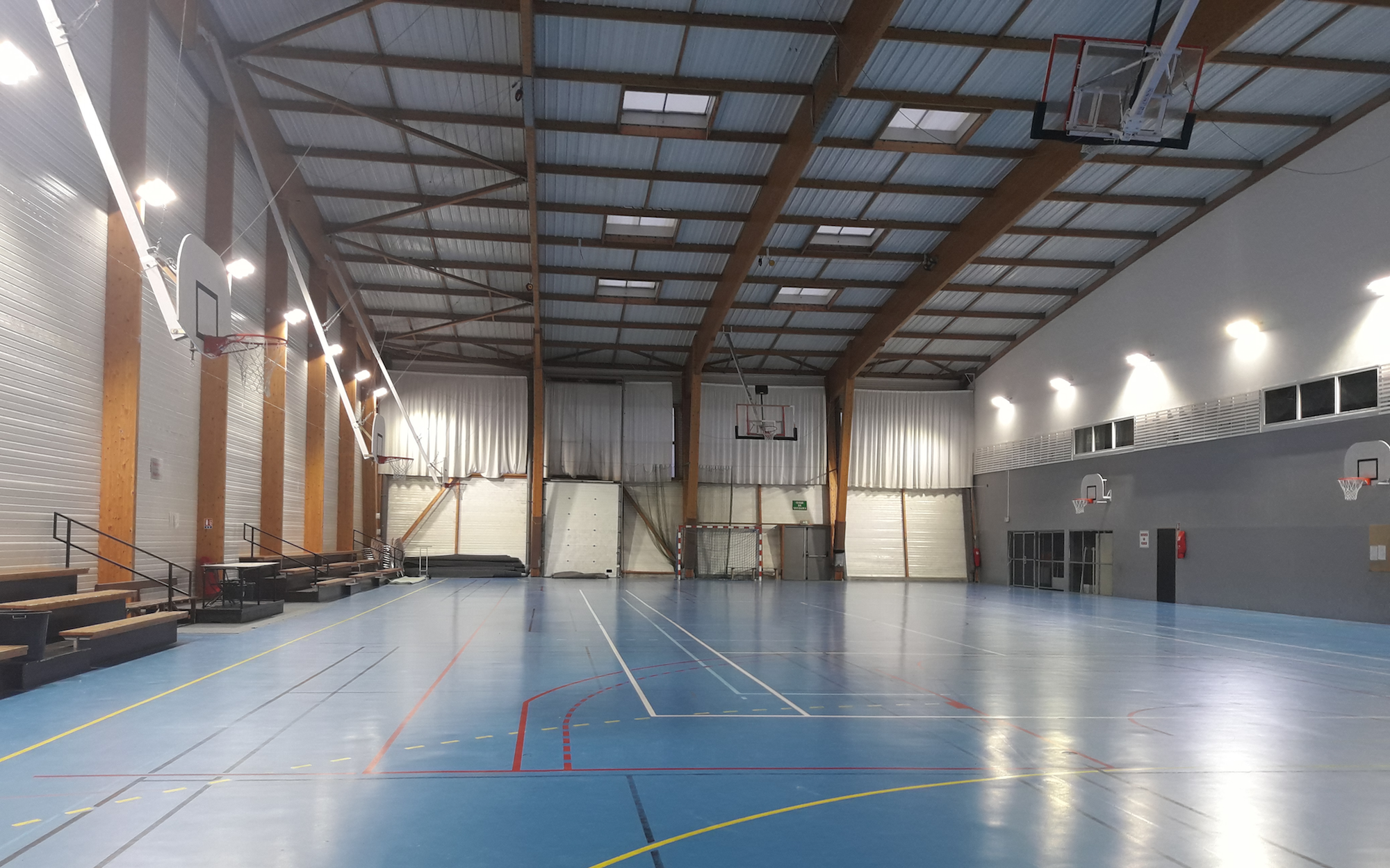Maison des sports à Lannion (22)
