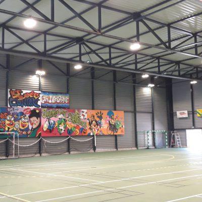 Salle omnisport Landi Lampaul à Landivisiau (29)